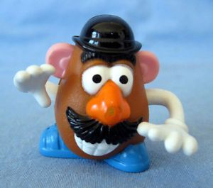 Burger King Toy Story Mini Mr Potato Head Figurine Toy Kid Club Meal Movable Arm