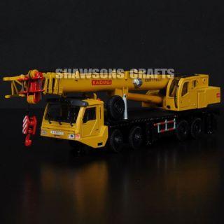 Die Cast Metal 1 55 Giant Crane Truck Heavy Vehicle Model Replica