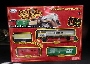 Santa FE Special Locomotive Train Track Caboose Play Set Child Boy Girl Kids Toy