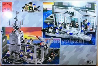 Navy Missile Cruiser 843pcs Building Blocks Bricks Set 821 Enlighten Toy 2