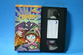 The Fairly OddParents Abra Catastrophe The Movie VHS Video Kids Nickelodeon