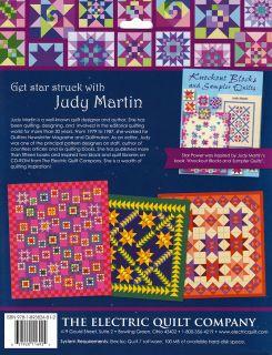 Star Power Judy Martin EQ7 Add in New Software CD 110 Blocks 61 Quilt Designs