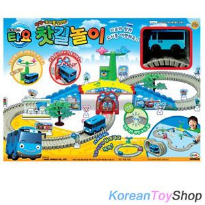 The Little Bus Tayo Moving Tayo Toy on Rail Motor Action for Kids Creativity