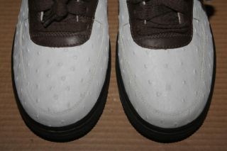 Sample Nike Air Force 1 One Lam Ostrich Premium Boxing Shoe Jordan 312945 Men 9