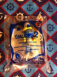 McDonalds Happy Meal Toy The Smurfs 2 Smurfette's Magic Wand Toy 2