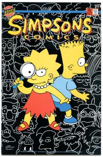 Simpsons Comics 3 NM Simpsons Homer Lisa Bongo 1993 Marge More in Store