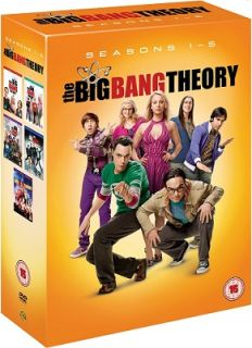The Big Bang Theory Complete Season 1 5 Comedy TV Series Region 2 DVD Set New