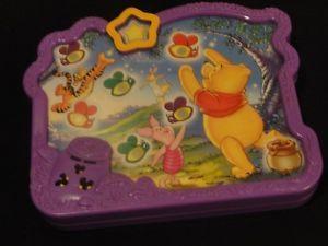 Disney Winnie The Pooh Electronic Talking Handheld Game Fun Toddler Kids Toy
