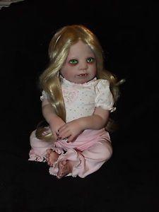 Goth Demon Vampire Baby Horror Art Doll