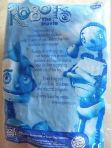 Robots The Movie Burger King Happy Meal Toy