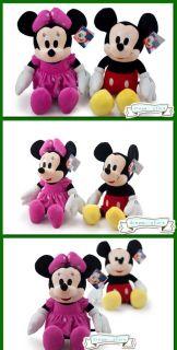 "Disney 20"" Extra Large Mickey Minnie Mouse Soft Plush Stuffed Animal Toy Doll"