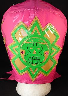 Rey Mysterio WWE Pink Kid Sized Replica Wrestling Mask