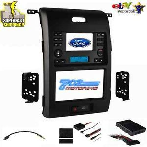 2013 Ford F 150 Double DIN Installation Kit Metra 99 5830B