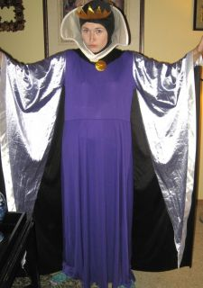 Disney Snow White Villain Evil Queen Wicked Queen Sorceress Adult Costume L XL
