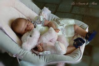 Reborn Baby Girl Doll Prototype Birgit Gutzwiller Pitu Kit