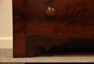 Empire Antique 1825 Secretary Desk Bookcase