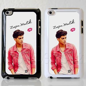 Custom Apple iPod Touch 4th Gen Pink Jacket Zayn Malik Case Cover Protector