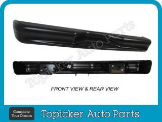 Rear Step Bumper Assy 1992 2012 Ford E150 E250 E350 Econoline Van Without Sensor