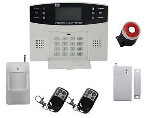 Wireless Home Security System House Fixed Phone Line Alarm Auto Dialer