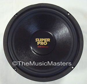 """Single 10"""" inch 8 Ohm Premium Home Pro Woofer Speaker Cabinet Box Replacement"""