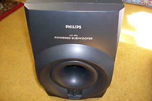 Philips SW900 Powered Subwoofer Great Box Used Home Theater Component Speakers