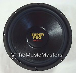 """Single 12"""" inch 8 Ohm Premium Home Pro Woofer Speaker Cabinet Box Replacement"""