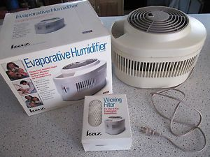 Kaz evaporative humidifier model ev710 what is a humidifier for Protec humidifier cleaning fish