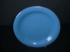 Gibson Everyday Housewares Blue Dinner Plate China Dinnerware