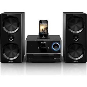 Philips DCM3020 Micro Hi Fi System Dock Station iPad iPhone iPod USB CD FM Radio