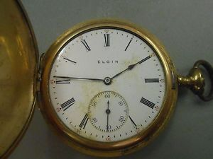 how to find serial number on elgin pocket watch