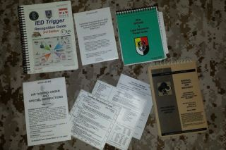 Sof Instructional Books Cards Set USSF DEVGRU CAG Oda NSW AWG