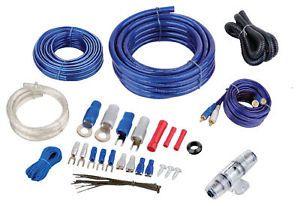 4 Gauge Amplifier Installation Kit 2000 Watt Amp Wiring