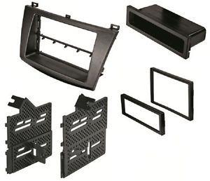 Best Kits BKMAZK849 Mazda 3 Double Single DIN Radio Installation Dash Kit