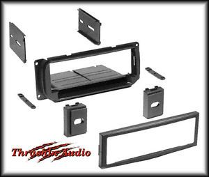 Chrysler Dodge Jeep DIN ISO Car Stereo Radio Install Dash Kit Installation Trim