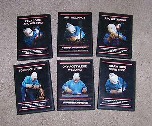 Wall Mountain WMC Instructional Welding DVD Series 6 DVD Set