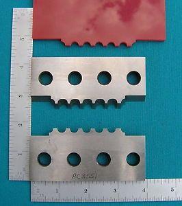Williams and Hussey Shop Fox Moulder Molder Planer Profile Knives Set Wood Tools