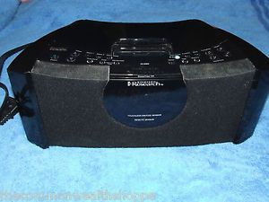 Emerson Research IC200 Smartset Itone iPod Dock Player w Clock Radio No Remote