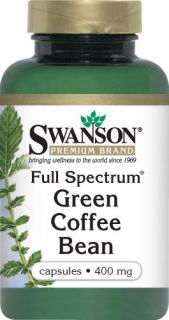 Pure Green Coffee Bean Extract 400mg Gentle Colon Cleanse Flush Detox Diet Pills