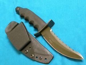 Custom Rekat Round Eye Knife Tools Dirk Dagger Survival Bowie Knives Sheath EC