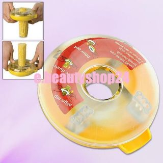 Kitchen Tool Detachable One Step Corn Kerneler Peeler