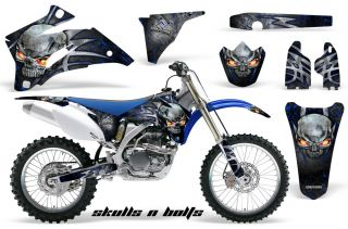 Yamaha YZ250F YZ450F 06 09 Graphics Kit Decals SNBMBL