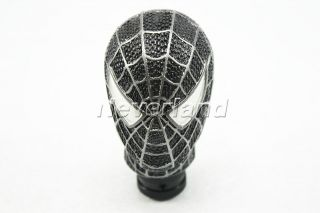 Universal Car Truck Manual Gear Stick Shift Shifter Lever Knob Carved Spider Man