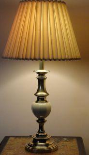 Pair of vintage stiffel brass table lamps aloadofball Gallery