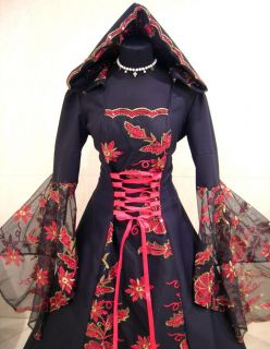 Sale Medieval Wedding Dress Victorian Renaissance Goth