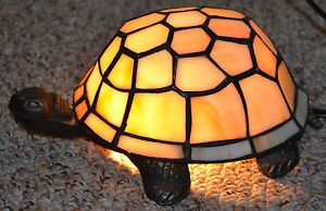 Stained Glass Turtle Night Light