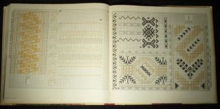 Book Romanian Folk Costume Embroidery Ethnic Peasant Blouse Pattern European Art