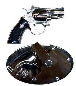 Western Belt Buckles Gun in Holster Cigarette Lighters Laser Pointers