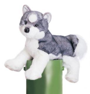 Stuffed Husky Dog
