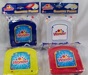 Wonder Bread Sandwich Packer Plastic Snack Container New in Package
