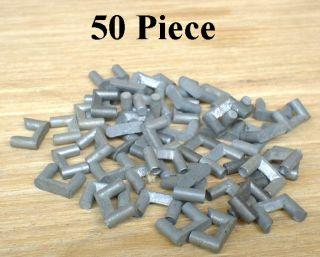 Original Aurora HO Scale Slot Car Lot 150 Metal Track Locks Pins
